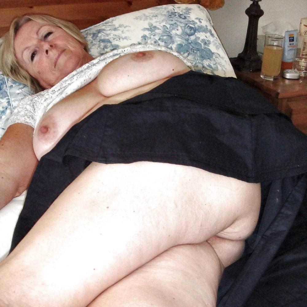 fat old mature ass