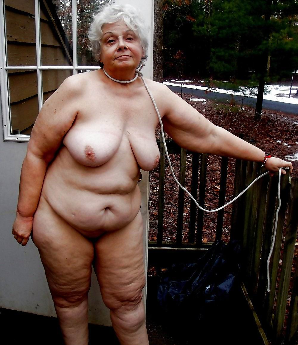 Granny big nipples