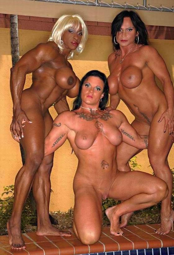 лесбиянки в бодибилдинге порно белье