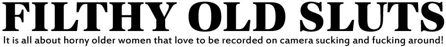 Filthy Old Sluts Logo