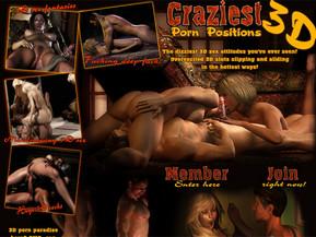 Craziest 3D Porn Positions