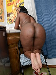 foot fetish ebony girl