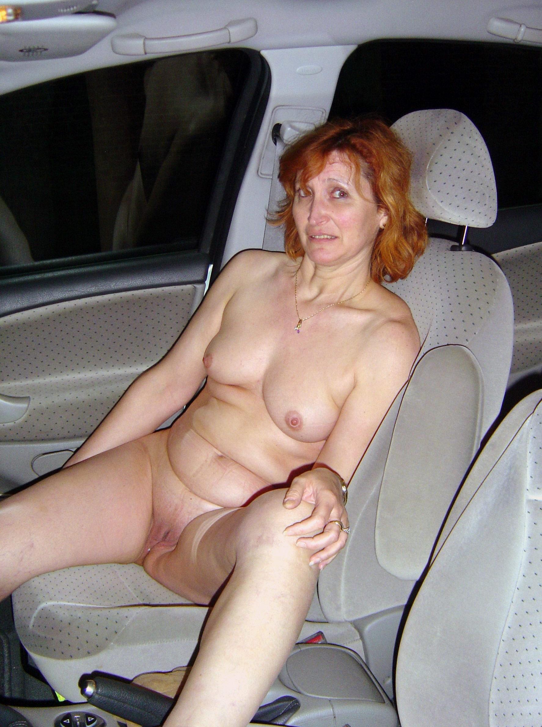 Car slut nude