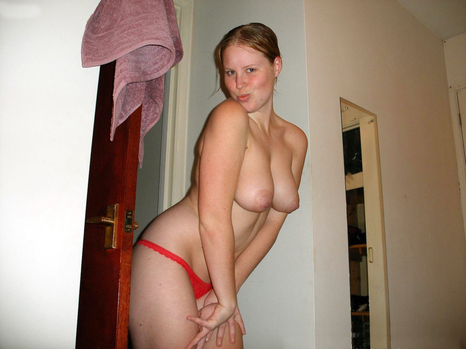 naked girl hanging out