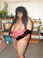 chubby black girl