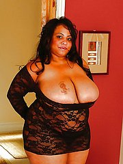 fat ebony amateur