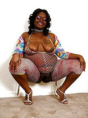 fat ebony amateur