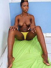 black woman