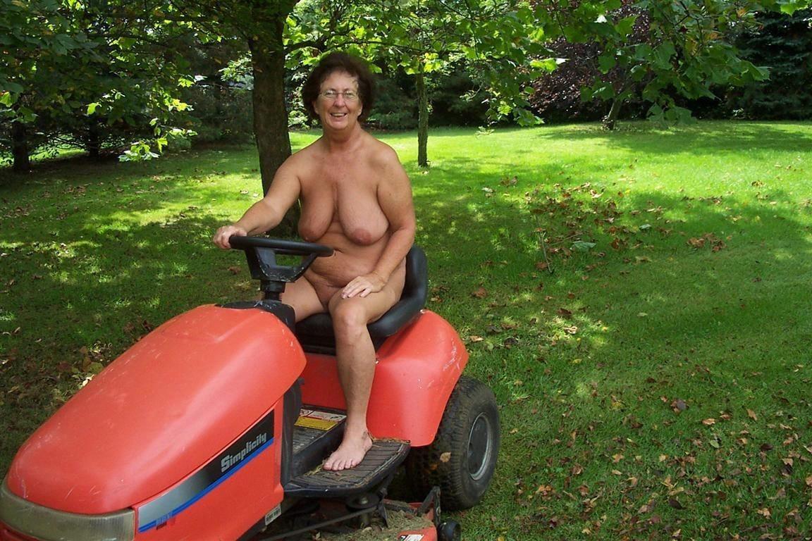 Pretty mature nudist hot