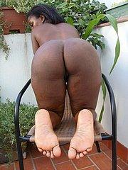 foot fetish ebony girl