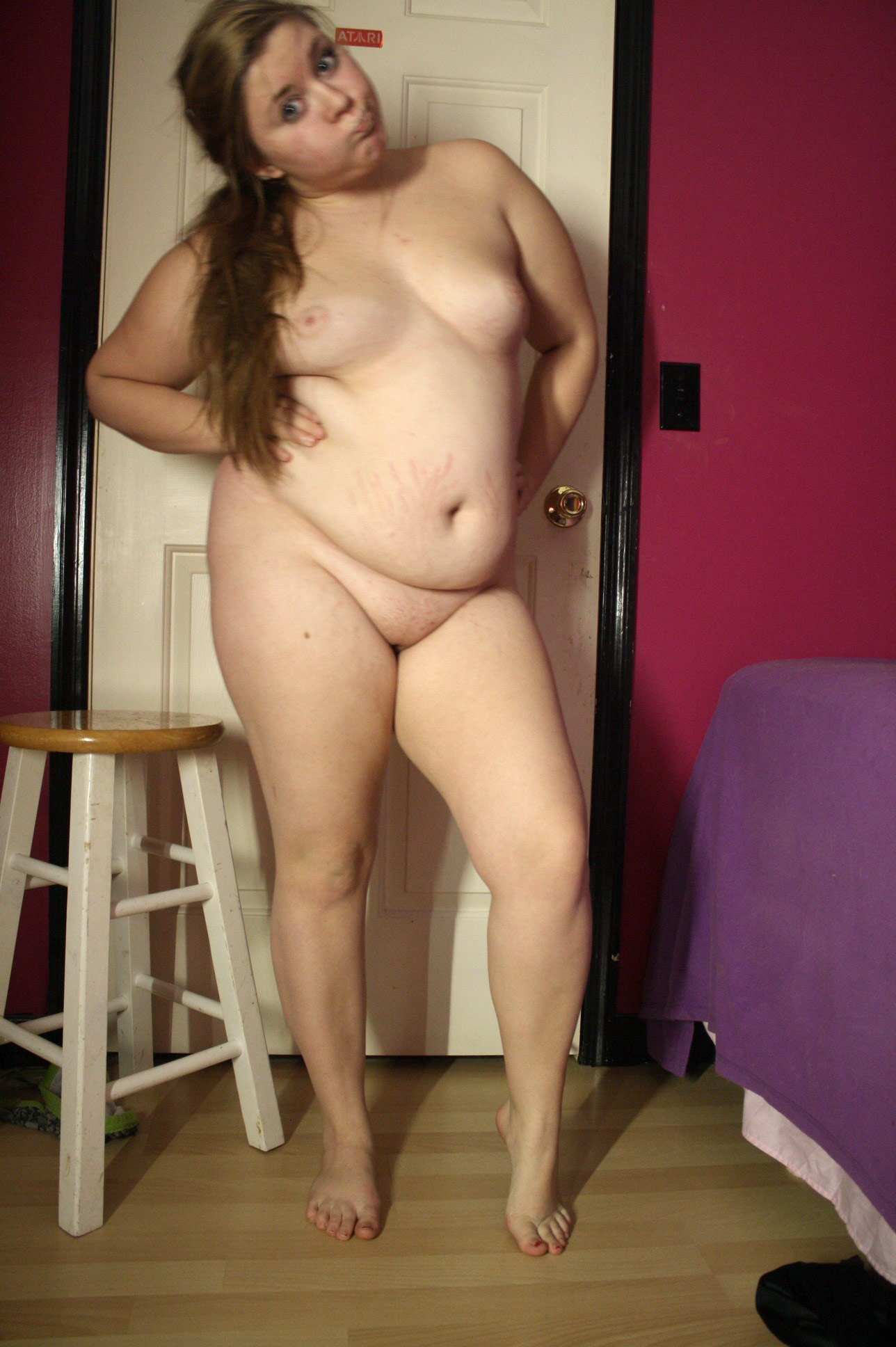 fat naked girl