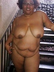 plump black girl