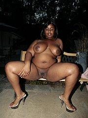 sexy chubby ebony