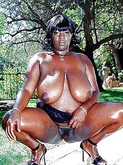 beautiful fat black girl