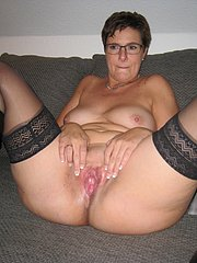 mature in stockings