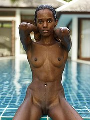 beautiful black girl