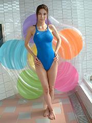tight swimsuit