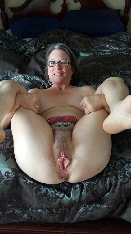 Grandma Hairy Pussy