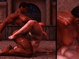 3D Futanari Sample 1