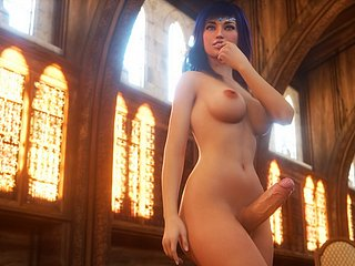 3D Futanari Sample 4