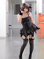 beautiful cosplay girl