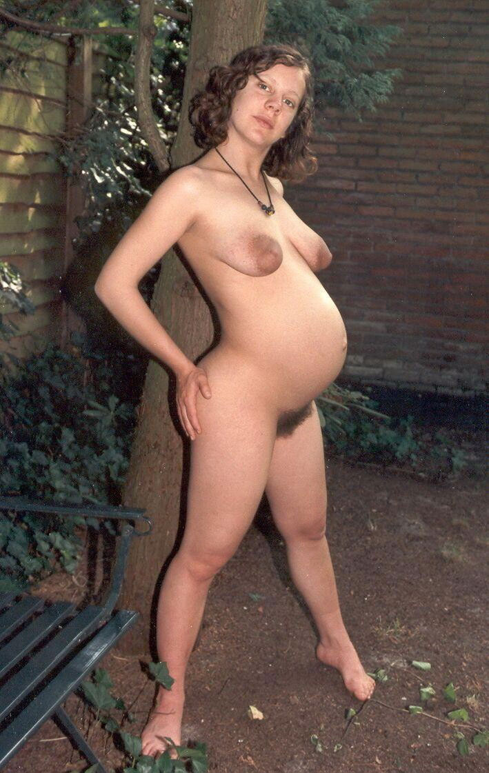Naked Pregnant Women In Wild Nature - Pregnant Naturists-6258